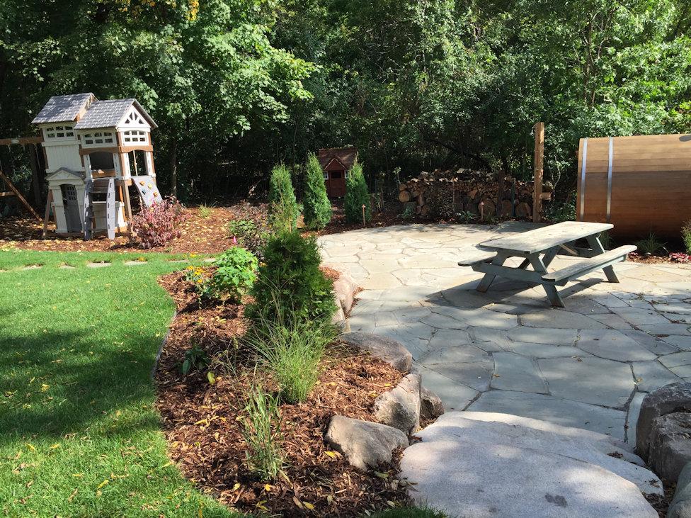 Minnetrista Backyard Sauna