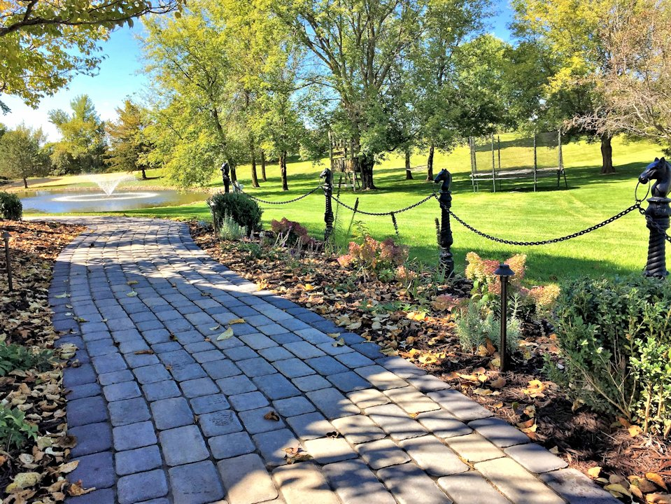 Paver walkways should not only serve a purpose, but provide an experience to its users.