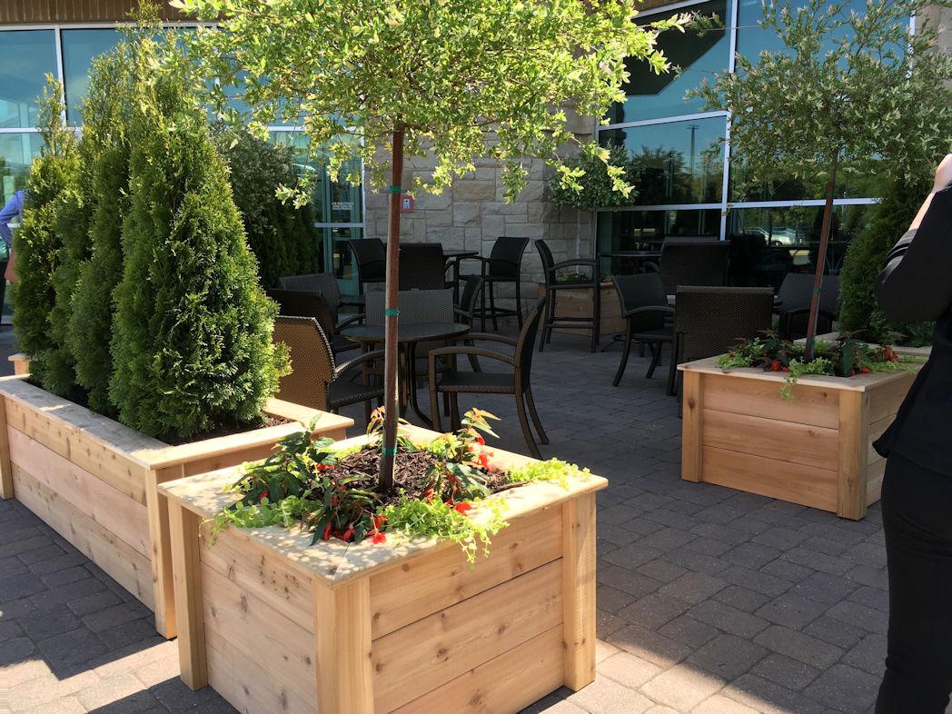 Hartman Companies custom planters