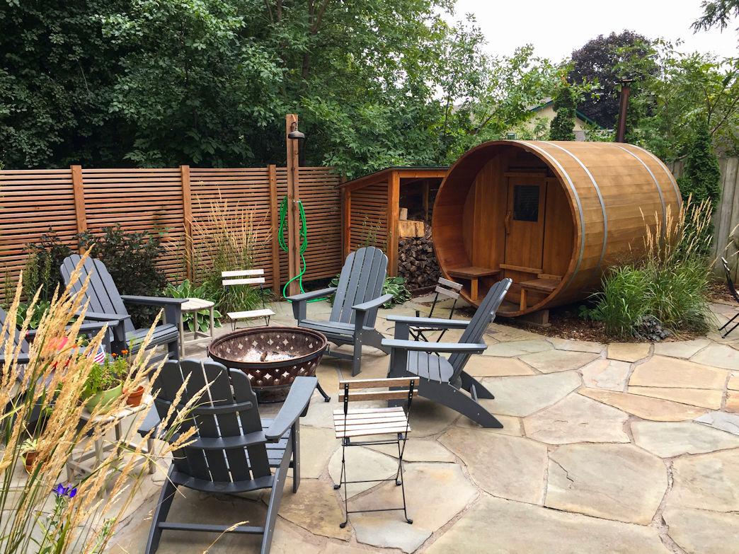 Excelsior Backyard Sauna