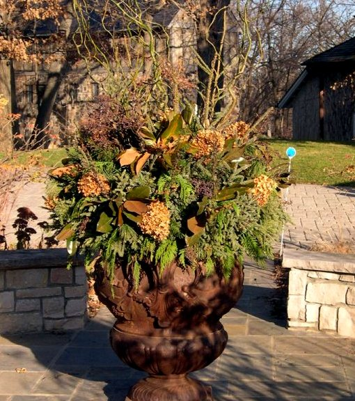 Spruce tips container